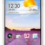 Oppo R1 - front
