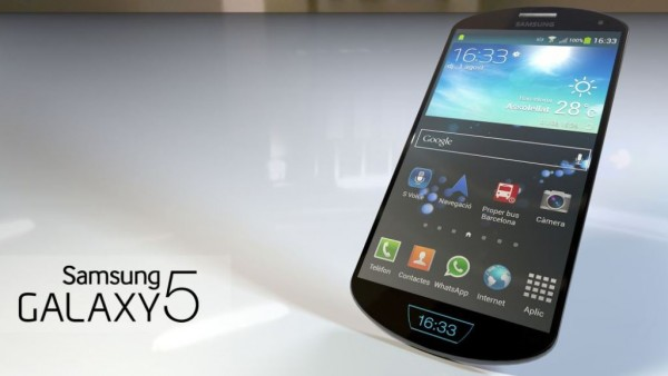 Samsung Galaxy S5 - koncept