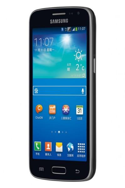 Samsung Galaxy Win Pro - czarny, front