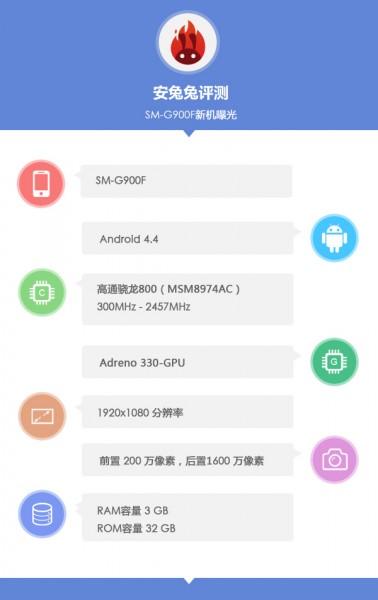 Samsung SM-G900F - AnTuTu