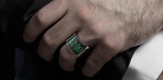Smart Ring - zegarek