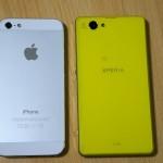 Sony Xperia Z1f oraz iPhone 5s - 1