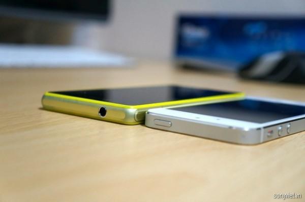 Sony Xperia Z1f oraz iPhone 5s