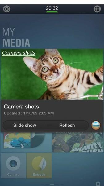 Tizen 2.1 - zrzut ekranu