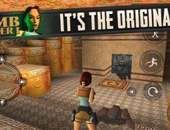 Oryginalny Tomb Raider dostępny na iOS