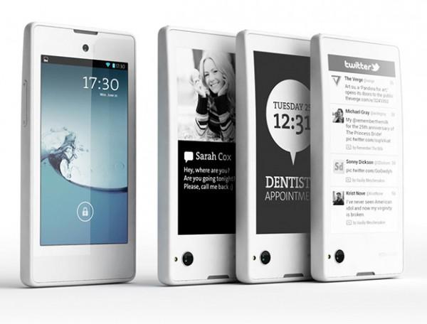 YotaPhone - przod i tyl