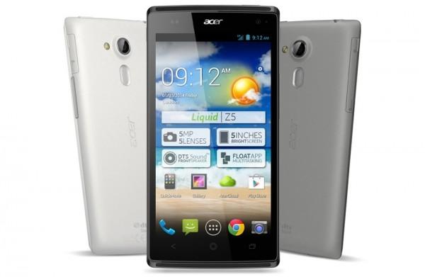 Acer Liquid Z5 - front