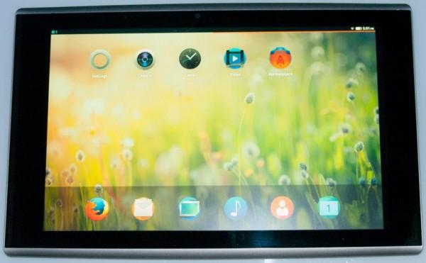 Firefox OS - tablet
