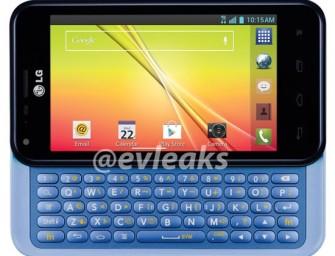 LG Optimus F3Q: smartfon z wysuwaną klawiaturą QWERTY