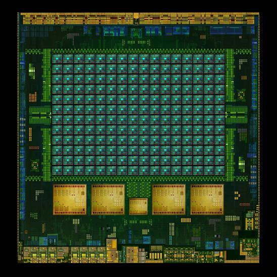 NVIDIA - Tegra K1, widok na klastry