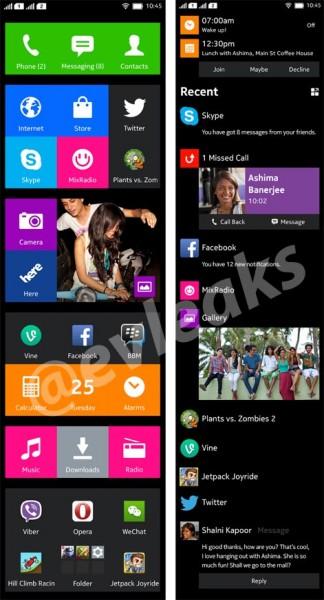 Nokia Normandy - screenshots