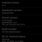Samsung Galaxy S4 - KitKat, 8