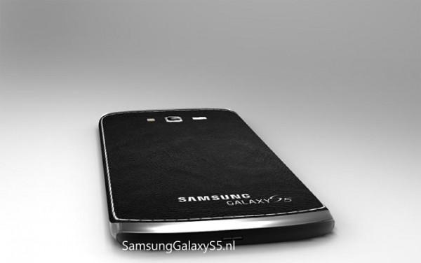 Samsung Galaxy S5 - koncept, tył