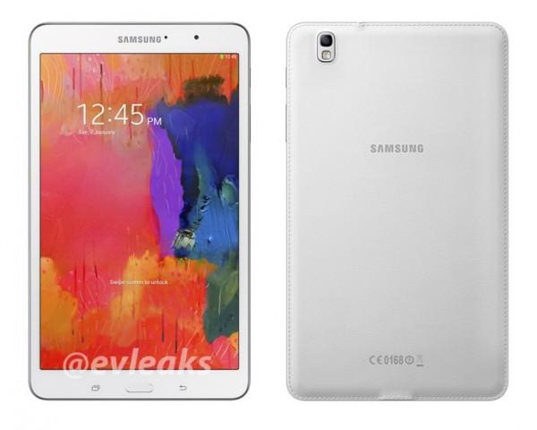 Samsung Galaxy Tab PRO 8.1 - z logo evleaks