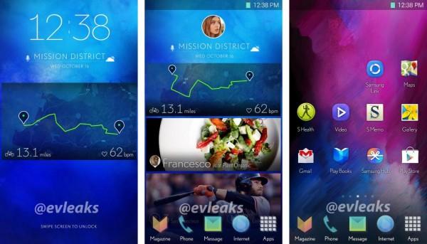 Samsung TouchWiz UI - nowy