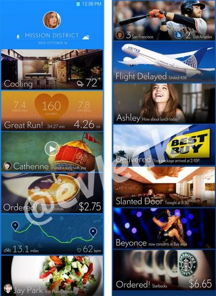 Samsung Touchwiz UI 2014