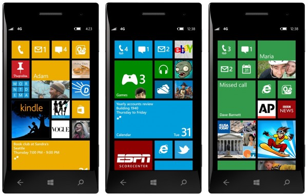 Smartfon NoName z Windows Phone