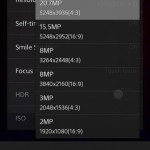Sony D6503 Sirius - UI kamery 7