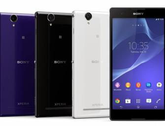 Sony Xperia T2 Ultra też dostaje KitKat, Xperia E1 i M2 następne w kolejce