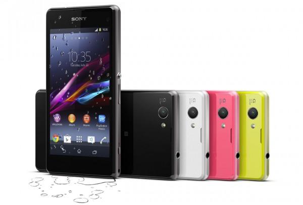 Sony Xperia Z1 Compact - kolory, czarny