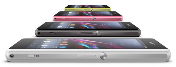 Sony Xperia Z1 Compact - perspektywa