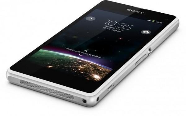 Sony Xperia Z1 Compact - rzut