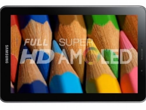 Super AMOLED Full HD - tablet