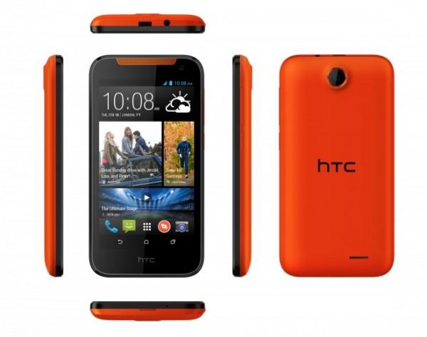 HTC Desire 310 - pomarańczowy
