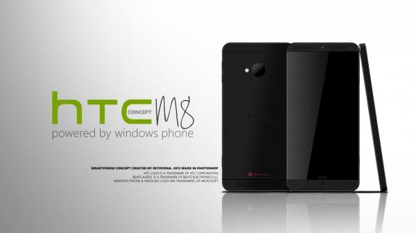 HTC M8 - koncept