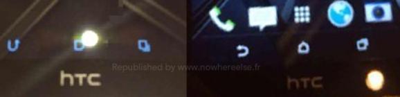 HTC M8 - przyciski interfejsu