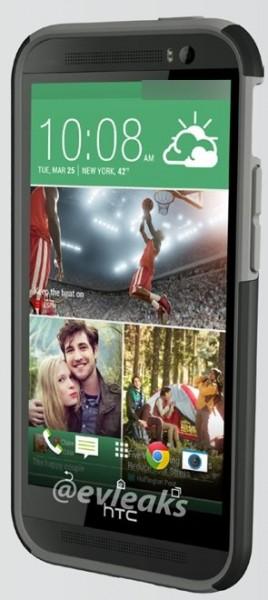 HTC M8 w pokrowcu