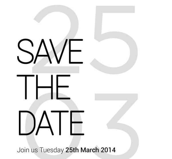 HTC - zaproszenie na 25 marca 2014
