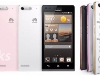 Huawei Ascend G6 i MediaPad X1 – pierwsze zdjęcia tych urządzeń trafiły do sieci