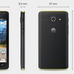 Huawei Ascend Y530 - wymiary
