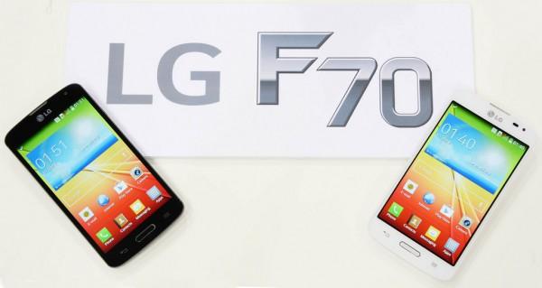 LG F70 - bialy i czarny