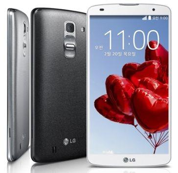 LG G Pro 2 - biały i czarny