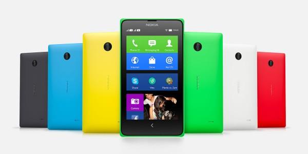 Nokia X - kolory