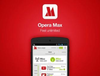 Opera Max zadba o Twój limit transferu danych
