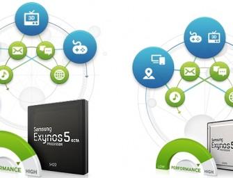 Exynos 5422 Octa i Exynos 5260 Hexa – dwa nowe chipy Samsunga