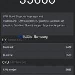 Samsung Galaxy S5 - AnTuTu, benchmark prototypu 2