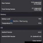 Samsung Galaxy S5 - AnTuTu, benchmark prototypu 4