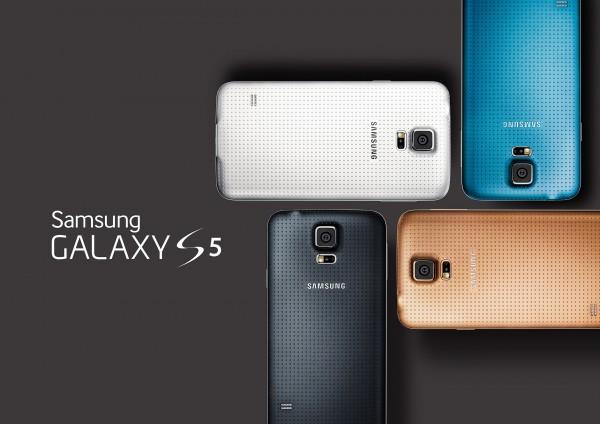 Samsung Galaxy S5 - cztery kolory