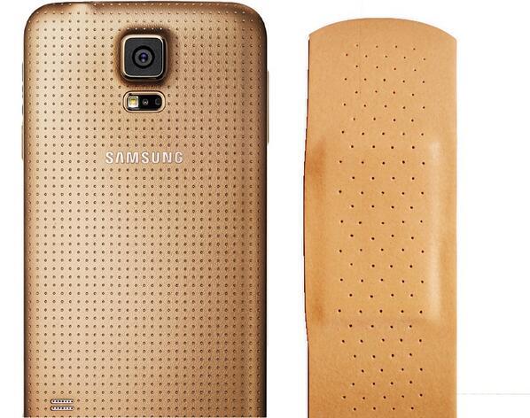 Samsung Galaxy S5 jako plaster