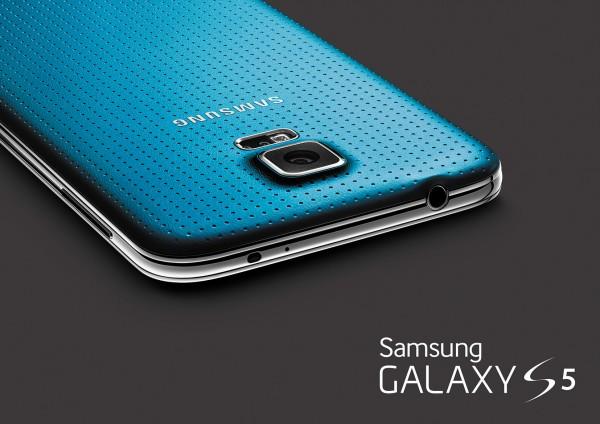Samsung Galaxy S5 - niebieski