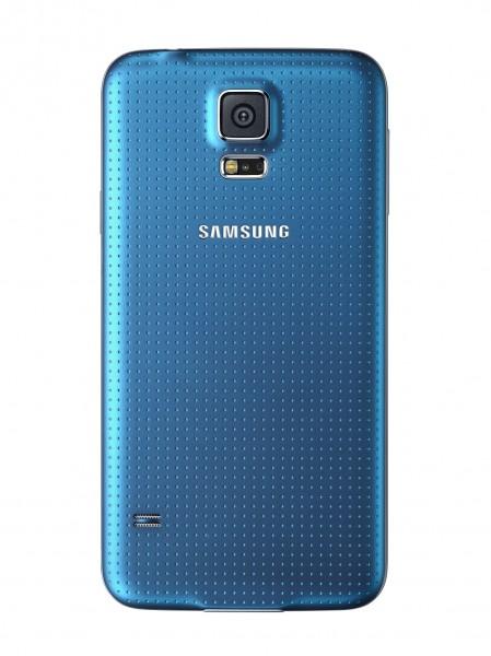 Samsung Galaxy S5 - tył, niebieski