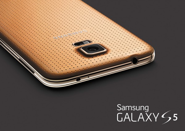 Samsung Galaxy S5 - złoty