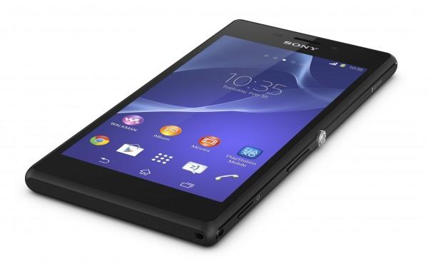 Sony Xperia M2 - rzut