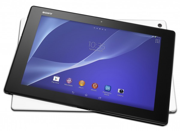 Sony Xperia Z2 Tablet - front