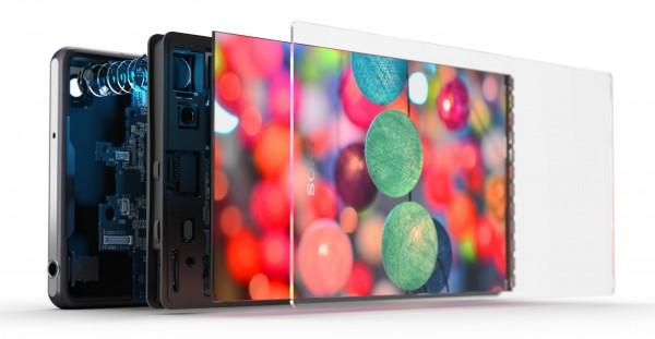 Sony Xperia Z2 - rozłożona