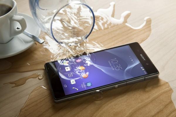 Sony Xperia Z2 - wodoszczelność